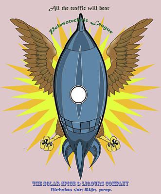Photograph - Polesotechnic League Emblem by C H Apperson