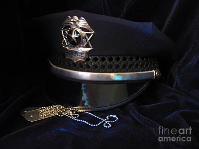 Police Art Photograph - Police And Dog Tags by Laurianna Taylor