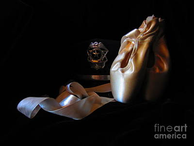 Pointe Shoes Photograph - Police And Pointe  by Laurianna Taylor