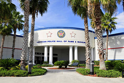Photograph - American Police Hall Of Fame by David Lee Thompson
