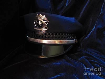 Police Art Photograph - Police Hat by Laurianna Taylor