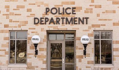 Police Station Building Art Print