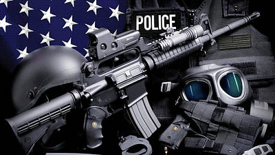 Law Enforcement Photograph - Police Tactical Phone Case by Gary Yost