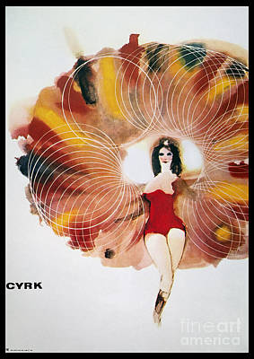 Painting - Polish Circus Poster 1968 by Granger