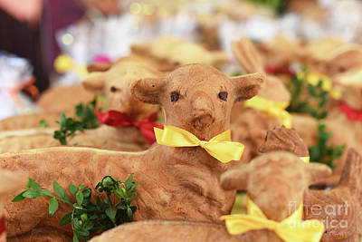 Photograph - Polish Easter Lamb Bread by Juli Scalzi