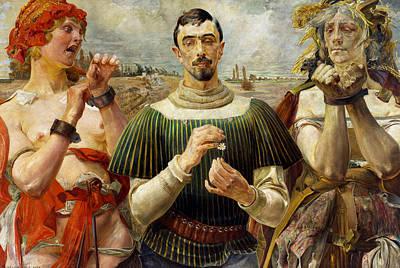 Painting - Polish Hamlet  by Jacek Malczewski