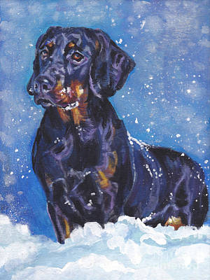 Painting - Polish Hunting Dog by Lee Ann Shepard