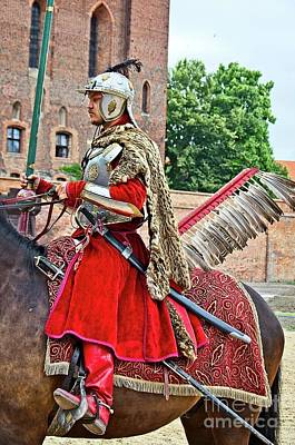 Photograph - Polish Hussar by Elzbieta Fazel