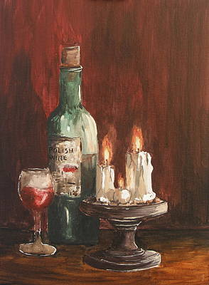 Polish Wine Art Print