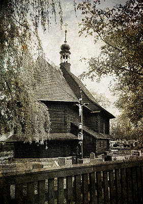 Photograph - Polish Wooden Church by Weston Westmoreland