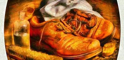 It Polish Digital Art - Polished Shoes by Catherine Lott