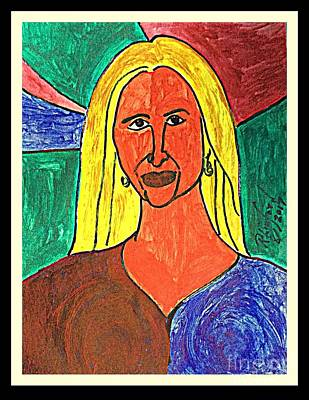 Painting - Politicats Copyright Dad Is Making America Great Signed Ivanka Trump by Richard W Linford