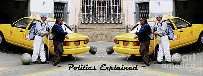 Photograph - Politics Explained by Al Bourassa