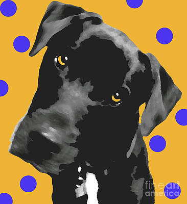 Polka Dot Art Print by Amanda Barcon
