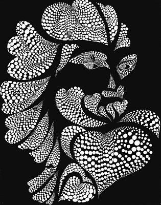 Polkadot Lover Art Print