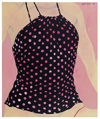 Atkinsky Painting - Polkadots Rose by Judith Sturm