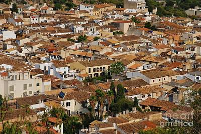 Photograph - Pollensa Old Town In Majorca by David Fowler