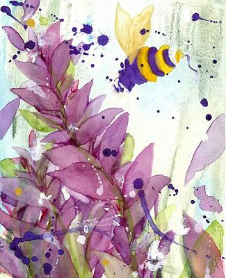 Painting - Pollinator by Dawn Derman
