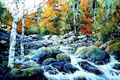 Painting - Polliwog Clearing by Hanne Lore Koehler