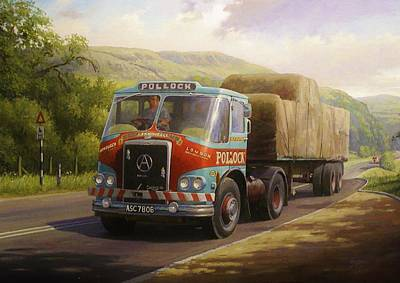 Painting - Pollocks Atkinson Artic. by Mike Jeffries