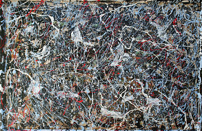 Pollock's Ghosts Art Print by Biagio Civale