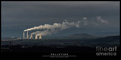 Photograph - Pollution by Jorgen Norgaard