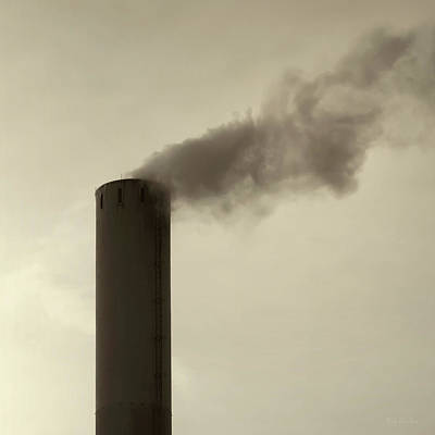 Manufacturing Photograph - Pollution by Wim Lanclus