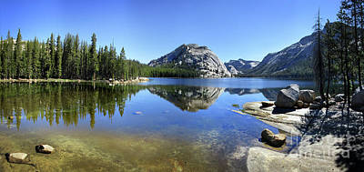 Polly Dome Over Tenaya Lake - Yosemite Art Print by Bruce Lemons
