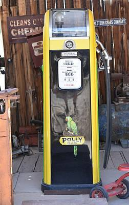 Photograph - Polly Gas Pump by rd Erickson