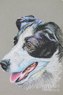 Pastel - Pollys Rescue by Susan Herber