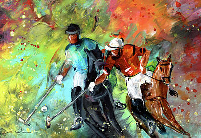 Painting - Polo 02 by Miki De Goodaboom
