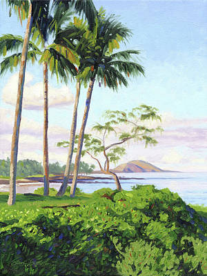 Painting - Polo Beach by Steve Simon