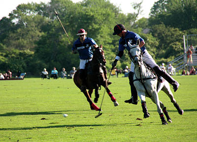 Photograph - Polo Match by Pat Moore