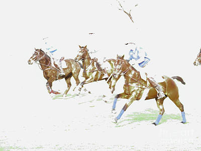 Rock Royalty - Polo Ponies 1 by Christy Garavetto