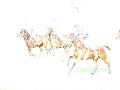 Photograph - Polo Ponies 2 by Christy Garavetto
