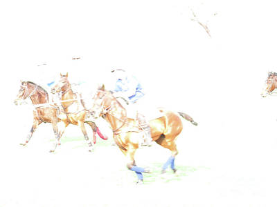 Photograph - Polo Ponies 3 by Christy Garavetto