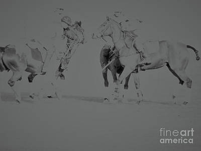 Photograph - Polo Ponies by Christy Garavetto