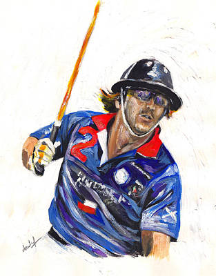 Painting - Polo Portrait by Debora Cardaci