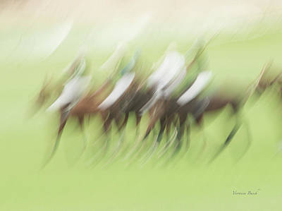 Photograph - Polo Walk by Veronica Busch
