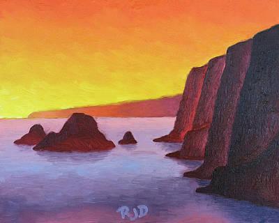 Painting - Pololu Sunrise by Robert J Diercksmeier