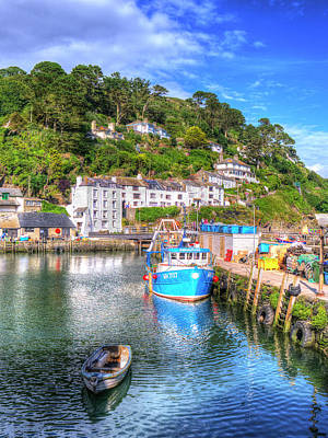 Photograph - Polperro - Cornwall by Hazy Apple