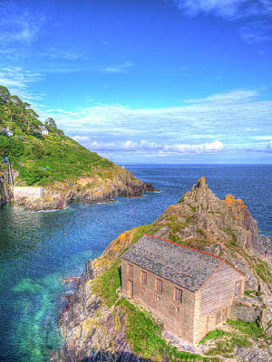 Photograph - Polperro Entrance by Hazy Apple