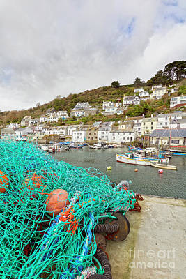 Photograph - Polperro Fishing Harbour by Terri Waters