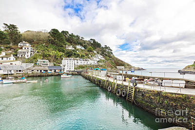 Photograph - Polperro Outer Harbour by Terri Waters