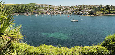 Photograph - Polruan From Fowey, Cornwall by Hazy Apple