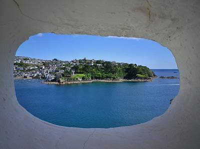 Photograph - Polruan Peephole by Richard Brookes