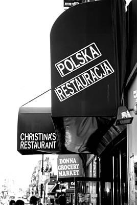 Photograph - Polska Restauracja by John Schneider