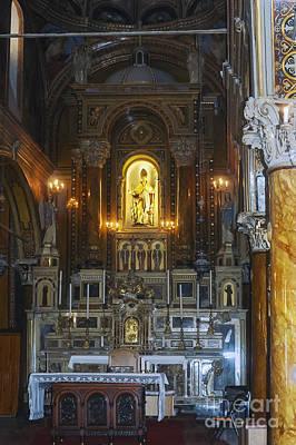 Polycarp Catholic Church Art Print