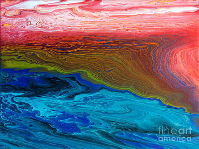 Painting - Polychromatic Prelude by Lon Chaffin