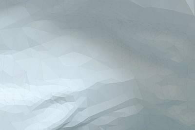 Graduation Sayings - Polygonal white rocky surface by Ivan Dinkov